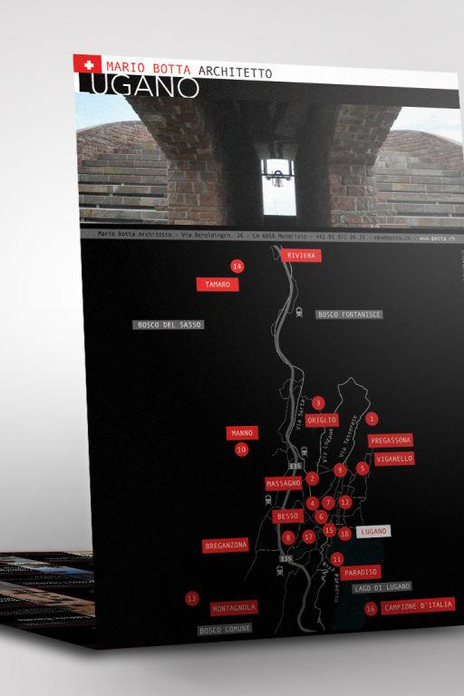 Mario Botta, map