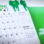 Anna Gili, calendar