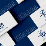 Lm, business card